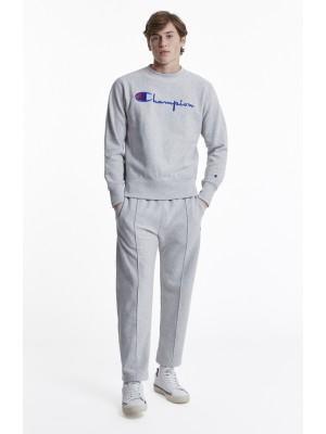 Champion Europe Sweatshirt big logo Crewneck 210975 f17 EM004 LOXGM Grey Limited Edition