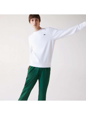 Sweatshirt Lacoste SH1505 800 Blanc Blanc