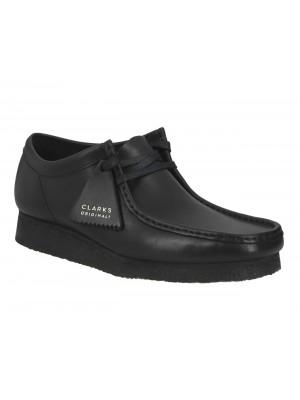 Clarks Originals Wallabee Black Leather 26155514 7 085