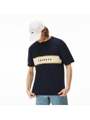 T-shirt Lacoste TH4295 166 Marine