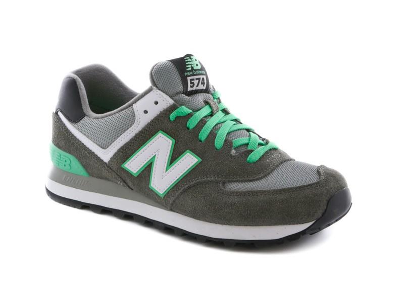 new balance hommes 574 vert