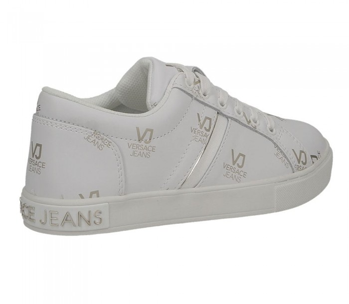 Versace Jeans Linea fondo PP Dis 2 leather printed Vj all over  white E0VTBSF2 70906 003