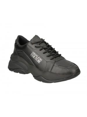 Basket Versace Jeans Couture Linea Fondo Extreme Dis 3 black 71183 899 leather E0YUBSI3