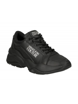 Basket Versace Jeans Couture dame E0VZBSI3 Linea Fondo Extreme Dis SI3 71779 899 Black leather coated
