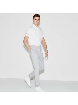 Pantalon de survêtement Lacoste xh8946 cca silver chine