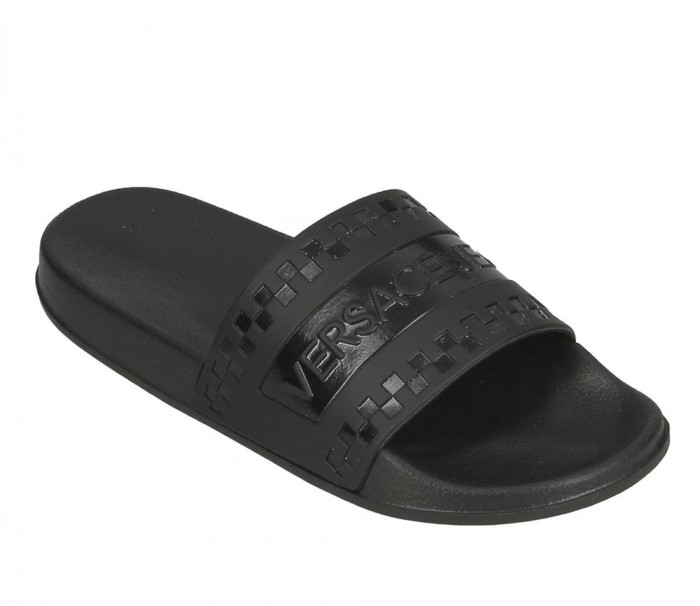 Versace Jeans L.Fondo Sea collection Dis 4 coated rubber effect black E0YTBSQ4 70984 899