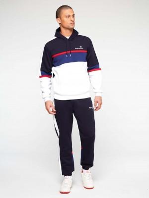 Sweatshirt à capuche Sergio Tacchini Norbert 39318 203 Navy Blue