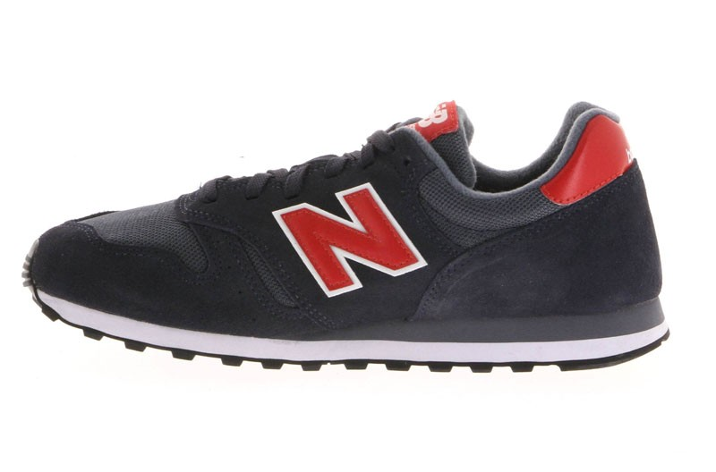 new balance ml373 sneaker navy red