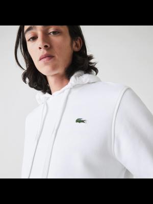 Sweatshirt Lacoste SH1527 800 Blanc Blanc