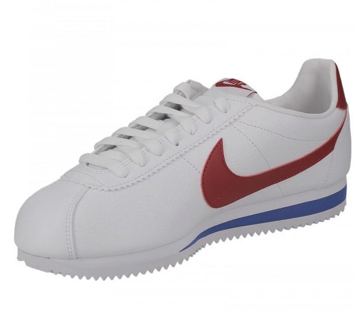 Nike Cortez Leather white varsity red 749571 154