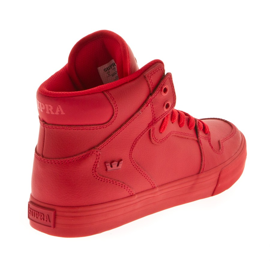 Chaussures Supra Rouge
