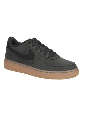 Nike Air Force 1 LV8 Style GS AR0735 001 black black gum medium brown