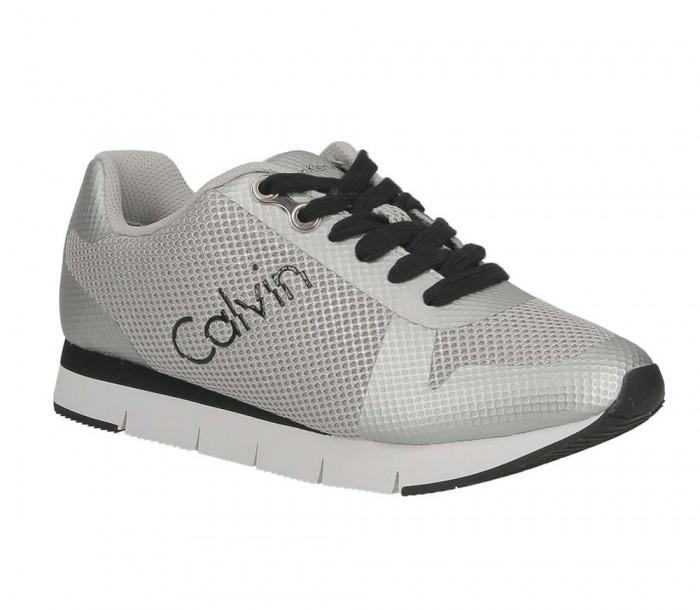 Calvin Kein Jeans Taline metallic mesh hf silver RE9847 SLV