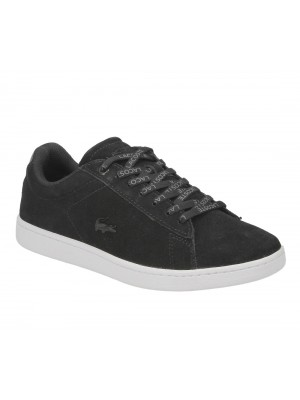 Lacoste Carnaby Evo 318 2 QSP SPW Blk Suede Synthetic 7-36SPW0045024