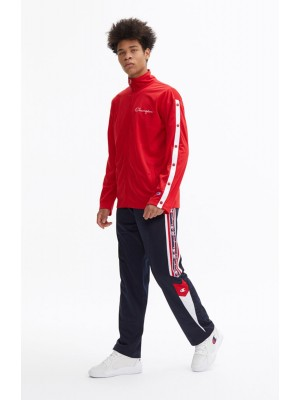 Popper Track Jacket Champion 213046 S19 RS053 HTR WHT