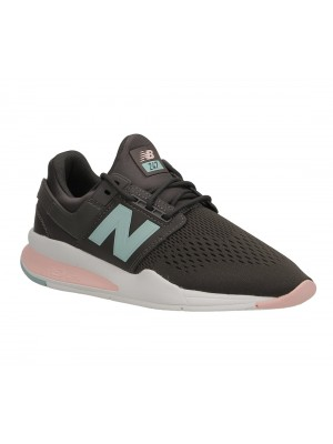 Basket New Balance WS247 FD Textile synthetic Americano with Himalayan Pink