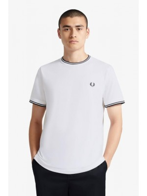 T-shirt Fred Perry Twin Tipped White M1588 100