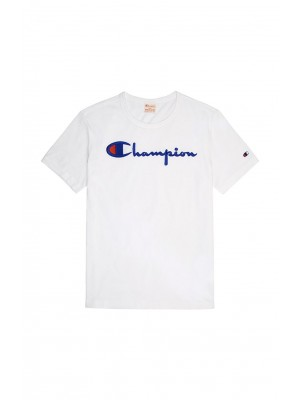 T-shirt Champion big logo Crewneck 210972 BS501 WW001 White Europe Limited Edition