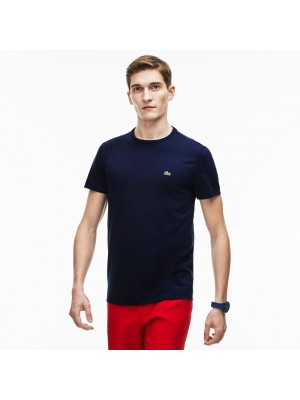T-shirt Lacoste th6709 166 navy blue