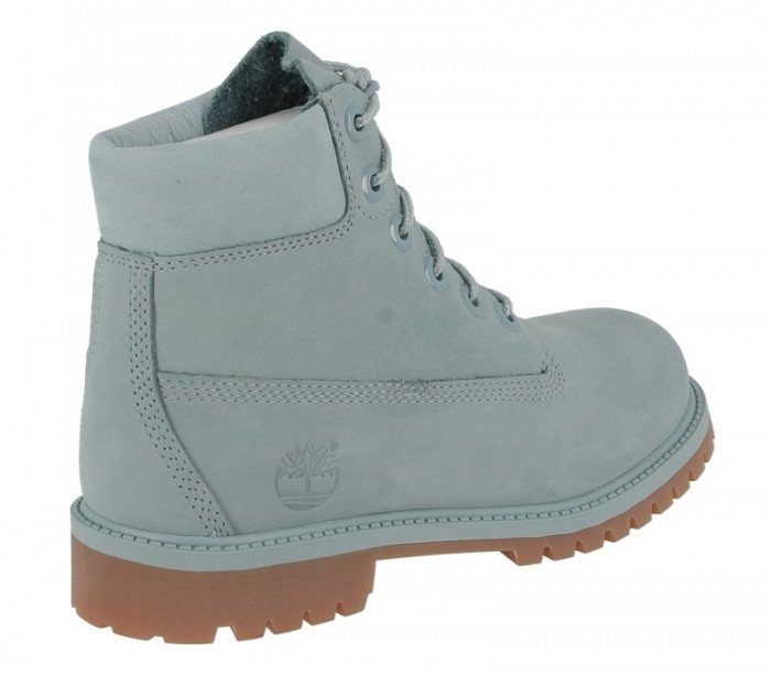 Timberland Juniors 6 in premium wp boot stone blue A1KQ4