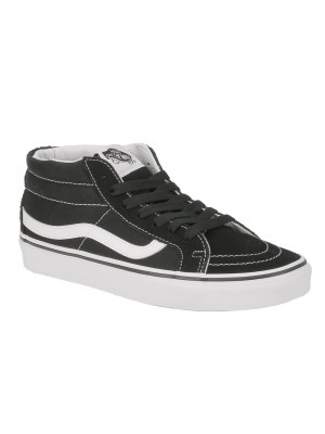 Vans SK8 mid reissue black true white noir blanc VA391F6BT color Noir