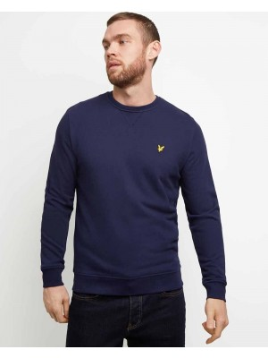 Sweatshirt Lyle & Scott Crew Neck Navy ML424 Z99