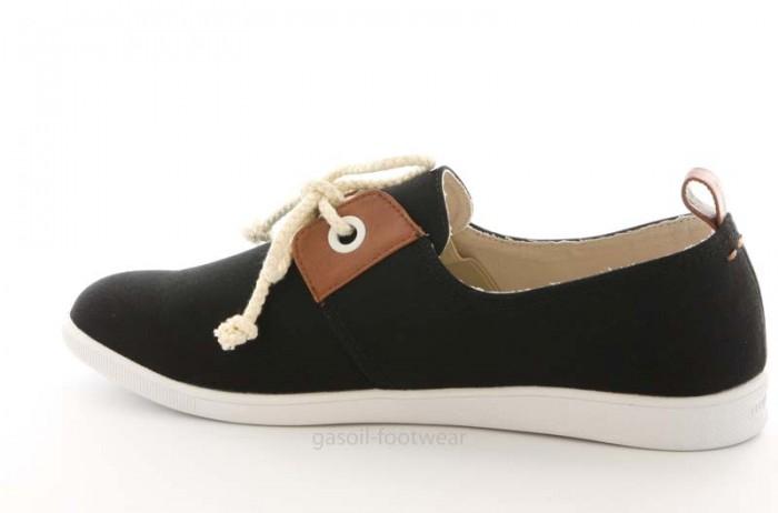 Chaussure Armistice en textile noir.
