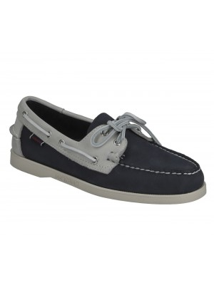 Chaussure Sebago Docksides Portland Archive lt grey blue indigo 7111PSW A4J