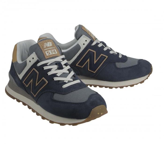 New Balance ML574 AB2 Natural indigo Maple sugar