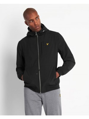 Blouson Lyle & Scott softshell jacket Jet Black JK1214V Z865