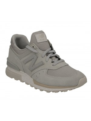 New Balance MS574 FSG stone grey leather textile