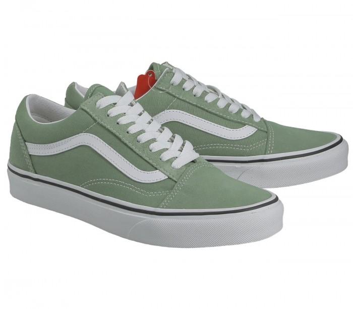 Basket Vans Old Skool Shale green True white VN0A3WKT4G61
