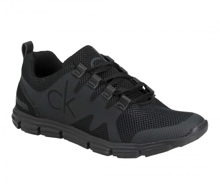 Calvin Klein Jeans Runner Sneaker Laceup BEH Full Black YM0YM00086