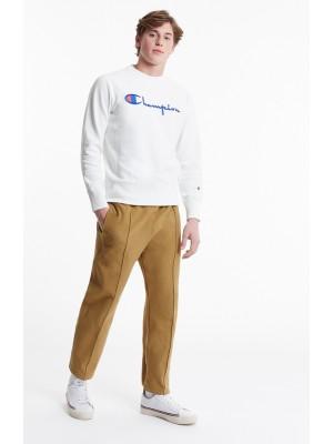 Champion Europe Sweatshirt big logo Crewneck 210975 WW001  white Limited Edition