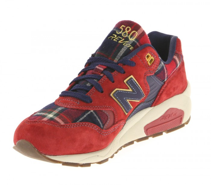 new balance homme 580 rouge