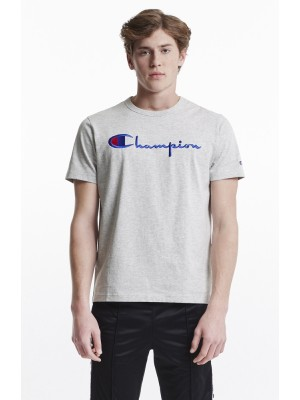 Champion Europe T-shirt big logo Crewneck 210972 EM004 LOXGM grey Limited Edition