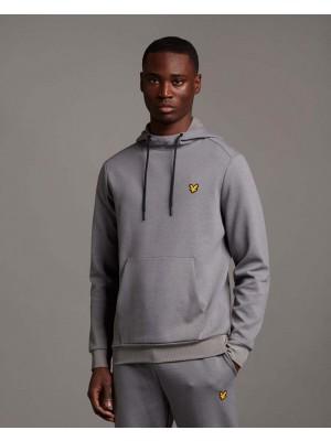 Sweatshirt à capuche Lyle & Scott ML1484SP T28 Mid Grey Marl