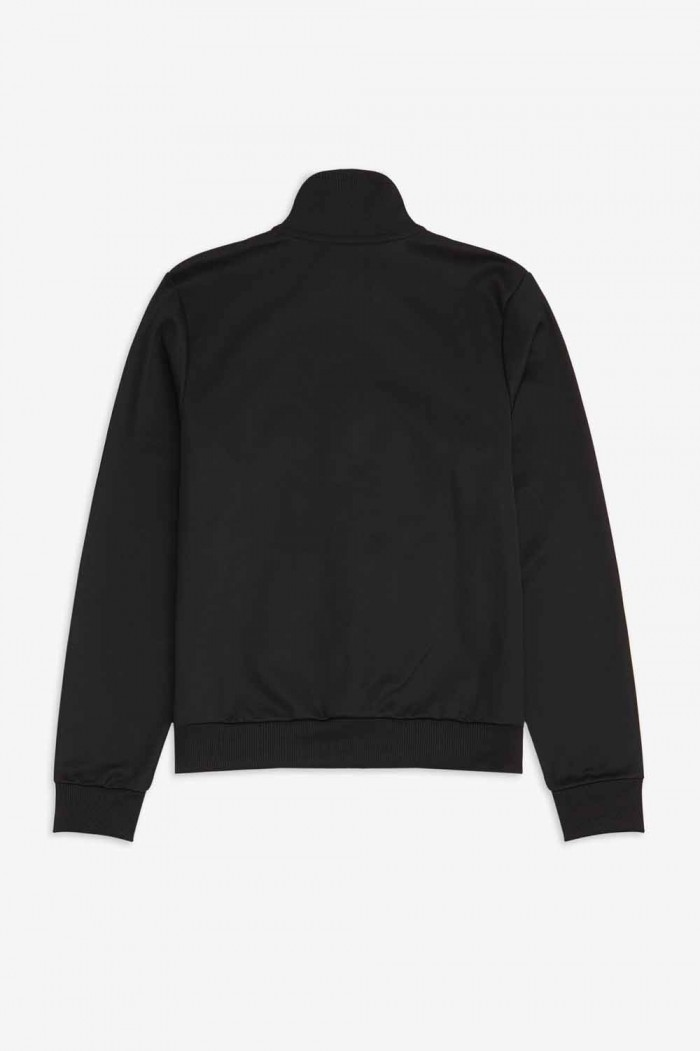 Fred Perry taped chest track jacket black J7501 102