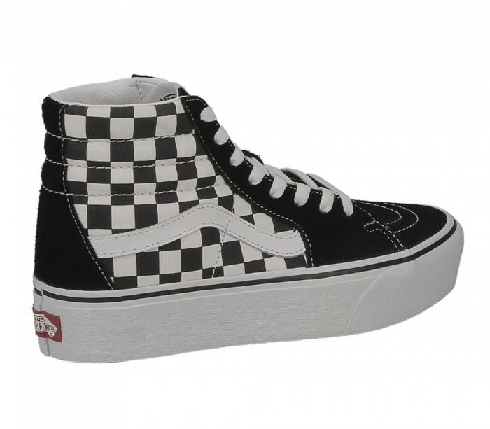 Vans SK8 Hi Platform 2 checkerboard true white VN0A3TKNQXH1