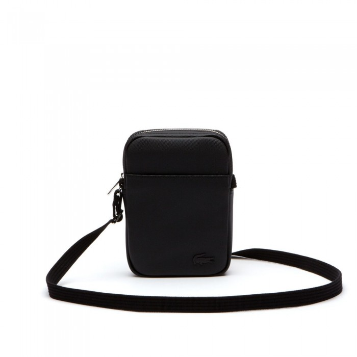 Sac Lacoste NH2340HC 000 black slim vertical camera bag