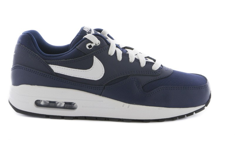 nike air max 1 gs blanc bleu