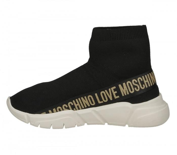 Love Moschino JA15633G0BJ4500A sneaker running35 calza nero