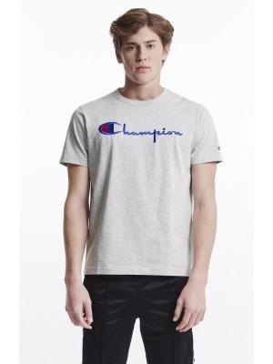 Champion Europe T-shirt big logo Crewneck 210972 EM004 LOXGM grey Limited Edition