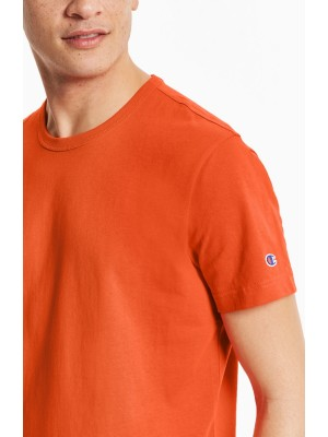 Champion Europe T-shirt small logo Crewneck 210971 OS005 ORG orange Limited Edition