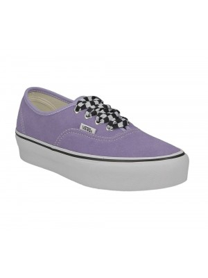 Vans Authentic Platform Chkrbrdlace violet VN0A3AV8S1V1