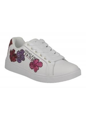 Basket Versace Jeans Couture dame E0VZBSO3 71770 003 White Linea Fondo O.M Dis.65 Leaher Python