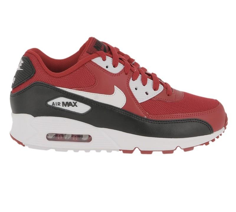 best sneakers a757e 2e7eb Nike Air Max 90 essential gym red white black white 537384 610
