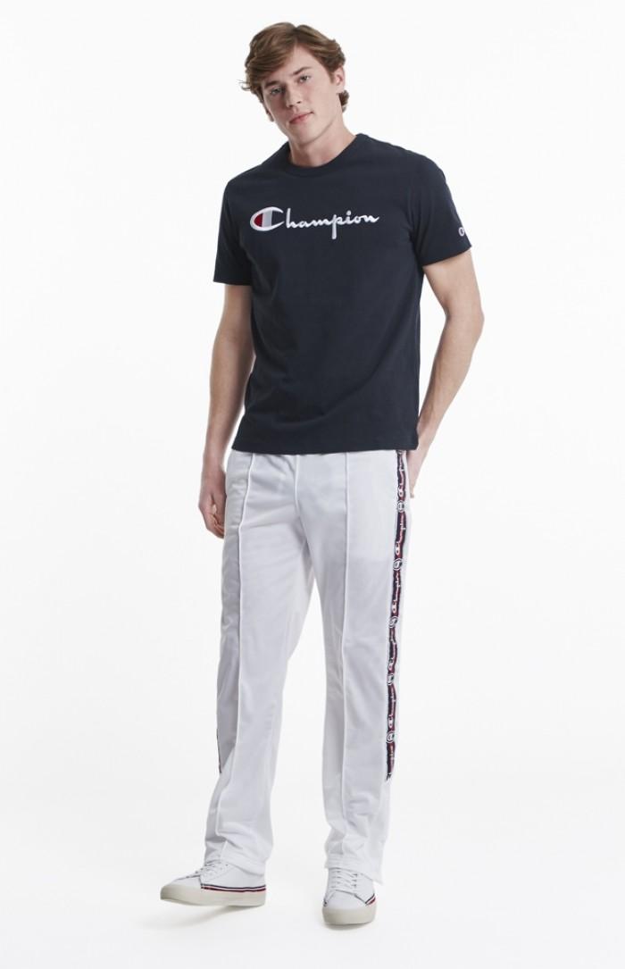 T-shirt Champion big logo Crewneck 210972 BS501 NNY navy Europe Limited Edition