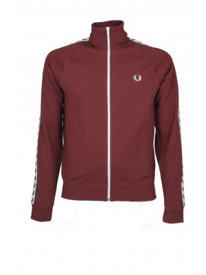 Fred Perry Taped track Jacket Rosso J6231 850