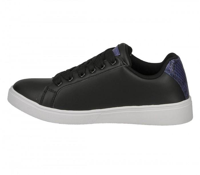 Basket dame Versace Jeans Couture dame E0VZBSO3 71770 899 black Linea Fondo O.M Dis.65 Leaher Python
